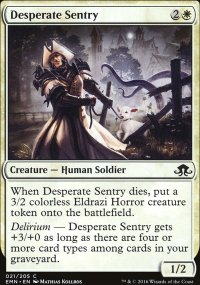 Desperate Sentry - Eldritch Moon
