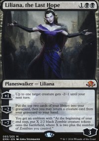 Liliana, the Last Hope - Eldritch Moon