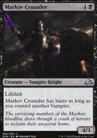 Markov Crusader - Eldritch Moon