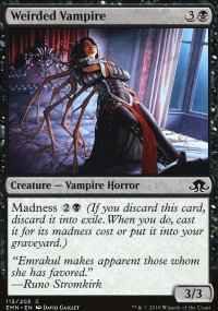 Weirded Vampire - Eldritch Moon