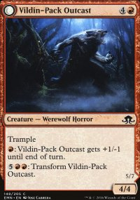 Vildin-Pack Outcast - Eldritch Moon