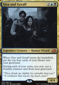Gisa and Geralf - Eldritch Moon