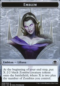 Emblem Liliana, the Last Hope - Eldritch Moon