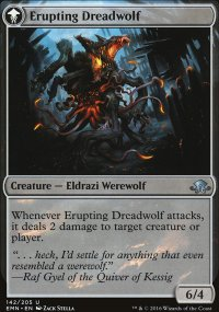 Erupting Dreadwolf - Eldritch Moon