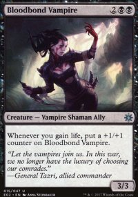 Bloodbond Vampire - Explorers of Ixalan