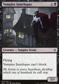 Vampire Interloper - Explorers of Ixalan