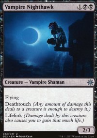 Vampire Nighthawk - Explorers of Ixalan