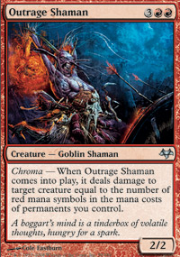 Outrage Shaman - Eventide