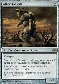 Altar Golem - Eventide