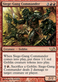 Siege-Gang Commander - Elves vs. Goblins