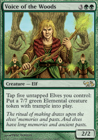 Voice of the Woods - Elves vs. Goblins