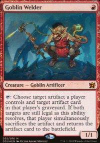 Goblin Welder - Elves vs. Inventors