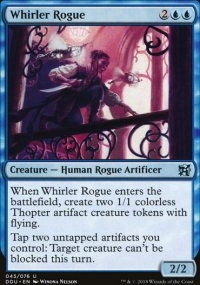Whirler Rogue - Elves vs. Inventors