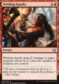 Welding Sparks - Elves vs. Inventors