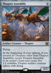 Thopter Assembly - Elves vs. Inventors