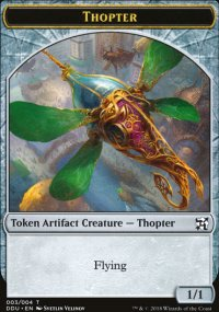 Thopter 1 - Elves vs. Inventors