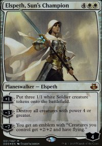 Elspeth, Sun's Champion - Elspeth vs. Kiora