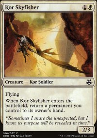 Kor Skyfisher - Elspeth vs. Kiora