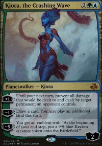 Kiora, the Crashing Wave - Elspeth vs. Kiora