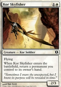 Kor Skyfisher - Elspeth vs. Tezzeret