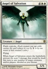 Angel of Salvation - Elspeth vs. Tezzeret