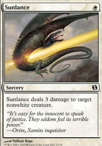 Sunlance - Elspeth vs. Tezzeret