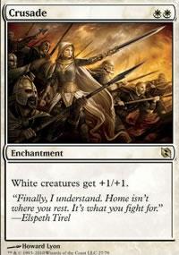 Crusade - Elspeth vs. Tezzeret
