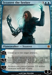 Tezzeret the Seeker - Elspeth vs. Tezzeret
