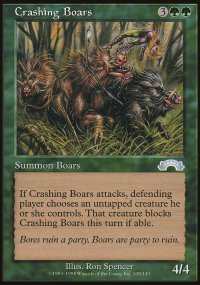 Crashing Boars - Exodus