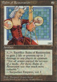 Balm of Restoration - Fallen Empires