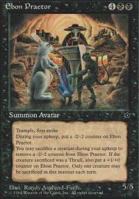 Ebon Praetor - Fallen Empires