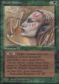 Elvish Hunter 1 - Fallen Empires