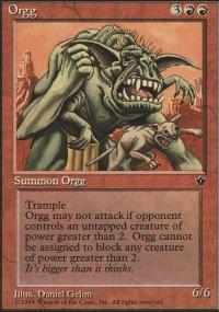 Orgg - Fallen Empires