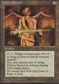 Zelyon Sword - Fallen Empires