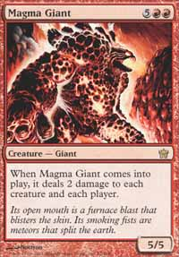 Magma Giant - Fifth Dawn