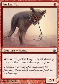 Jackal Pup - Premium Deck Series: Fire and Lightning