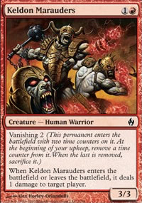 Keldon Marauders - Premium Deck Series: Fire and Lightning