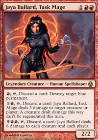 Jaya Ballard, Task Mage - Premium Deck Series: Fire and Lightning