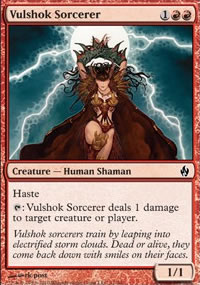 Vulshok Sorcerer - Premium Deck Series: Fire and Lightning