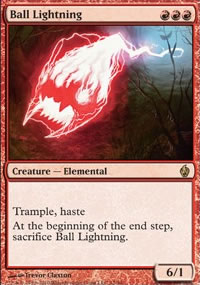 Ball Lightning - Premium Deck Series: Fire and Lightning