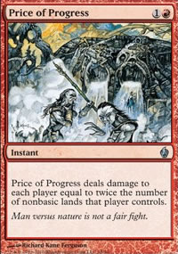 Price of Progress - Premium Deck Series: Fire and Lightning