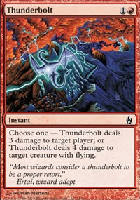 Thunderbolt - Premium Deck Series: Fire and Lightning