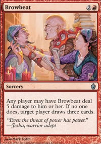 Browbeat - Premium Deck Series: Fire and Lightning