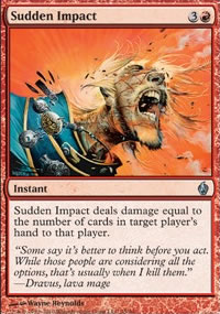 Sudden Impact - Premium Deck Series: Fire and Lightning