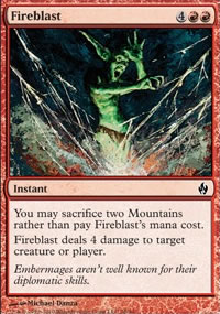 Fireblast - Premium Deck Series: Fire and Lightning