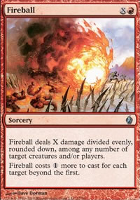 Fireball - Premium Deck Series: Fire and Lightning