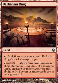 Barbarian Ring - Premium Deck Series: Fire and Lightning