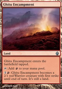 Ghitu Encampment - Premium Deck Series: Fire and Lightning