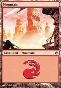 Mountain 1 - Premium Deck Series: Fire and Lightning