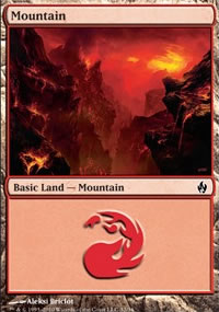 Mountain 2 - Premium Deck Series: Fire and Lightning